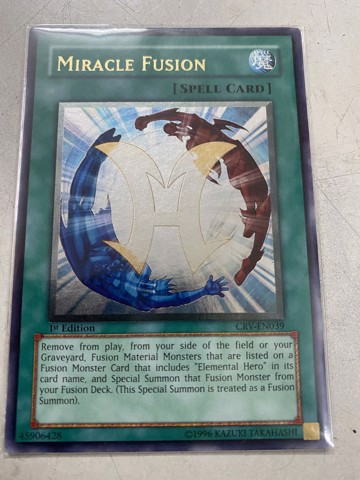 [ US ] Miracle Fusion - CRV-EN039 - Ultimate Rare 1st Edition