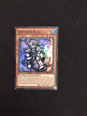 [ UK ] Crystron Rion - INOV-ENSE3 - Super Rare Limited Edition (Damaged)