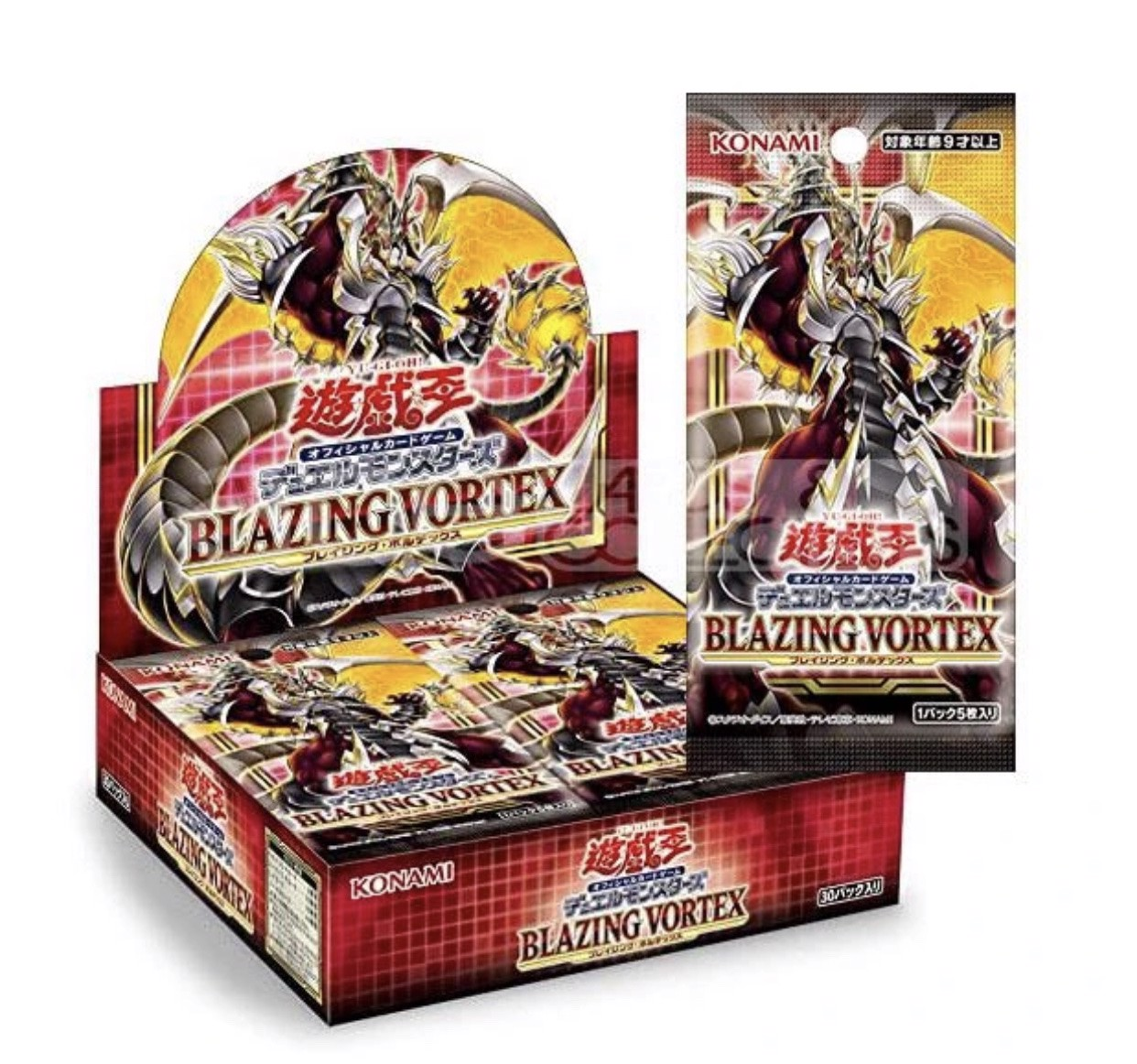 [ JK ] Blazing Vortex full box BLVO OCG