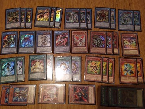 Full deck Nekroz TCG