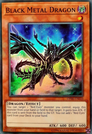 [ US ] Black Metal Dragon - CORE-EN022 - Common 1st Edition