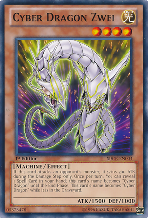 [ US ] Cyber Dragon Zwei - SDCR-EN004 - Common 1st Edition