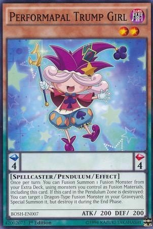 [ UK ] Performapal Trump Girl - BOSH-EN007 - Common 1st Edition
