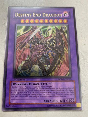 [ US ] Destiny End Dragoon - LODT-EN042 - Ultimate Rare 1st Edition