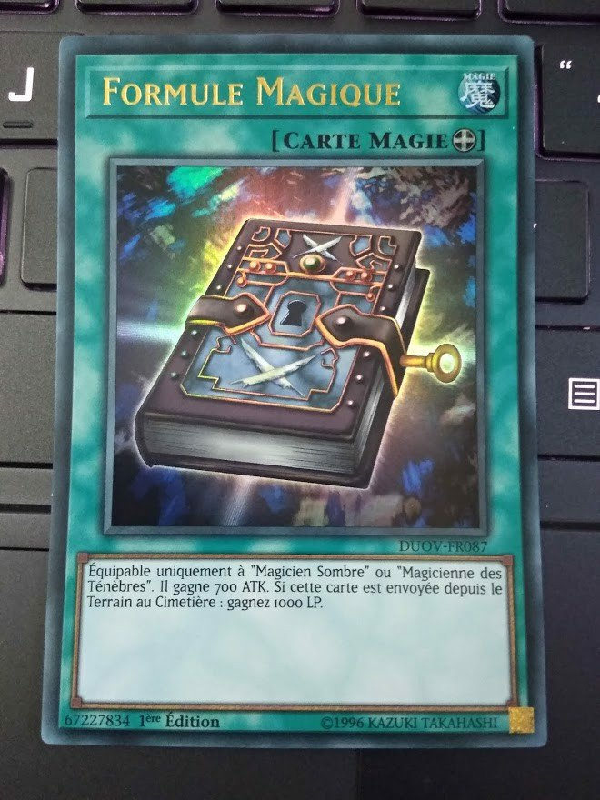 [ FR ] Magic Formula - DUOV-FR087 - Ultra Rare 1st Edition