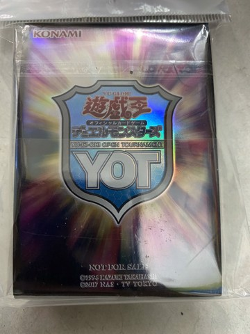 Card sleeve YOT - promo Yugioh Open Tournament - 90%