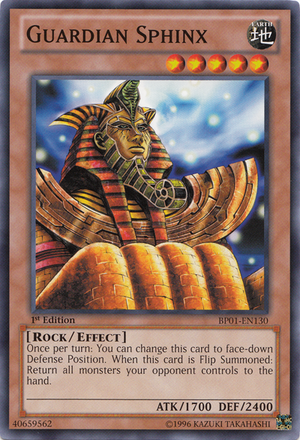 [ US ] Guardian Sphinx - SD7-EN005 - Common 1st Edition