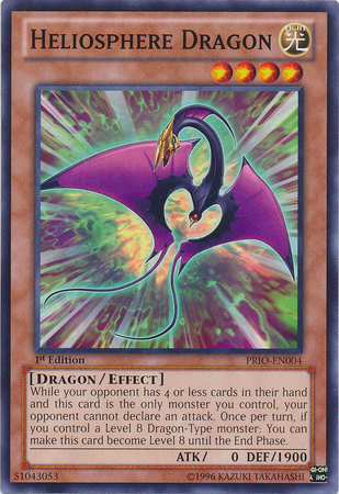 [ US ] Heliosphere Dragon - PRIO-EN004 - Common 1st Edition