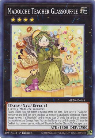 [ US ] Madolche Teacher Glassouffle - MP20-EN068 - Common 1st Edition