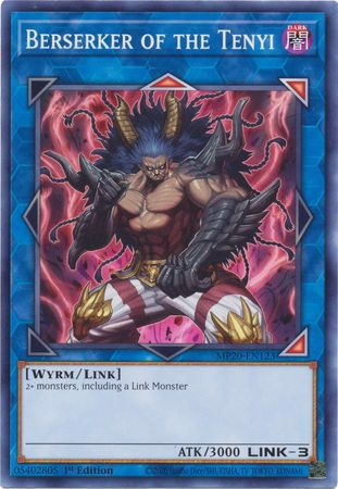 [ US ] Berserker of the Tenyi - MP20-EN123 - Common 1st Edition