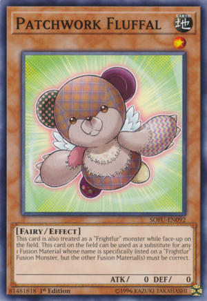 [ UK ] Patchwork Fluffal - SOFU-EN092 - Common 1st Edition