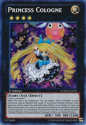 [ US ] Princess Cologne - NUMH-EN050 - Secret Rare 1st Edition
