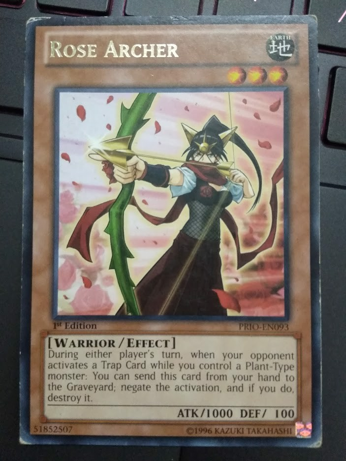 [ US ] Rose Archer - PRIO-EN093 - Rare 1ST Edition
