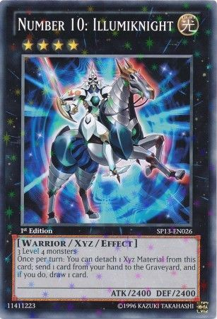 [ UK ] Number 10: Illumiknight - SP13-EN026 - Starfoil Rare 1st Edition