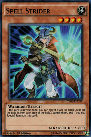 [ US ] Spell Strider - TDIL-EN037 - Super Rare 1st Edition