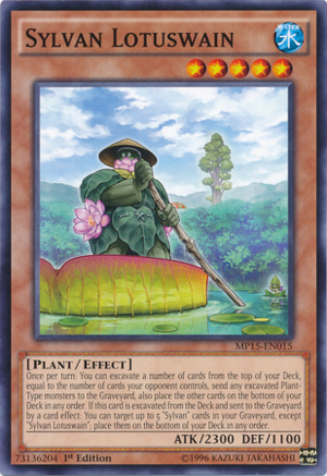 [ UK ] Sylvan Lotuswain - MP15-EN015 - Common 1st Edition