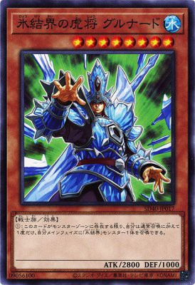 [ JP ] General Grunard of the Ice Barrier- SD40-JP017 - Common