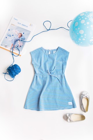 Cotton Dress Sunday Golf - Blue