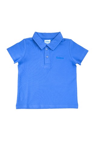 El Captain Premium Polo with Tiniboo Logo (Blue)