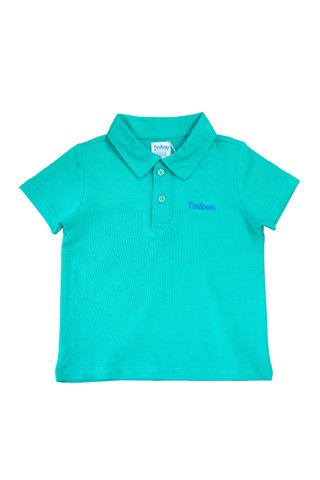El Captain Premium Polo with Tiniboo Logo (Lime)