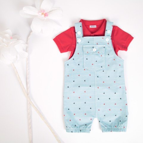 Set Premium Polo with Jumpsuit