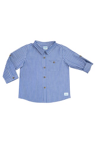 Blue Stripe Junior's Shirt