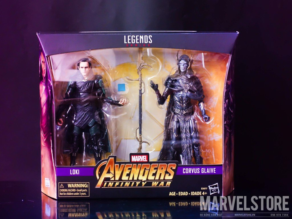 Set marvel legends loki