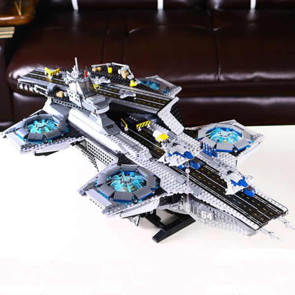 Lego Lepin 07043 Super Heroes The Shield Helicarrier