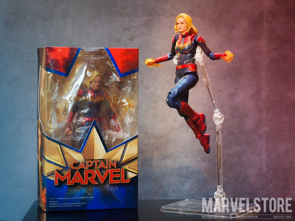 SHF Captain Marvel bandai