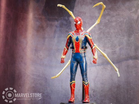 IronSpider crazy toys bản tĩnh 1/6 32cm