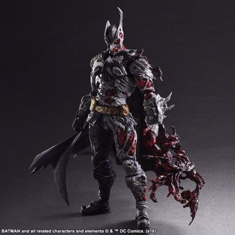 Square enix PLAY ARTS KAI Batman two face