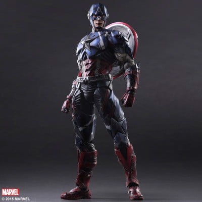 Square enix PLAY ARTS KAI Captain