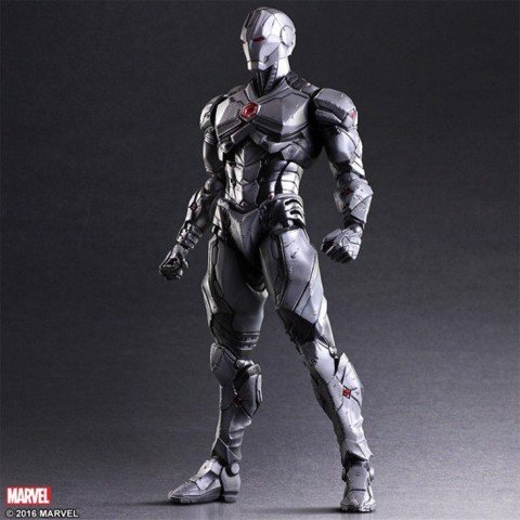 Square enix PLAY ARTS KAI Ironman Limited Color