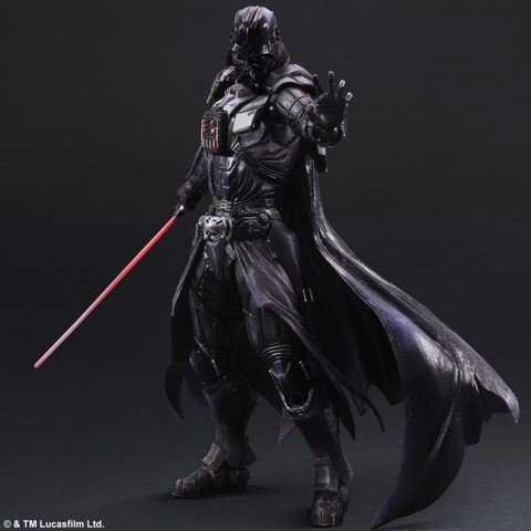Square enix PLAY ARTS KAI Darth Vader