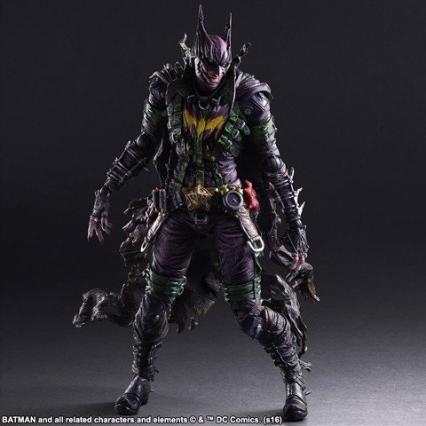 Square enix PLAY ARTS KAI Batman Joker rogues gallery