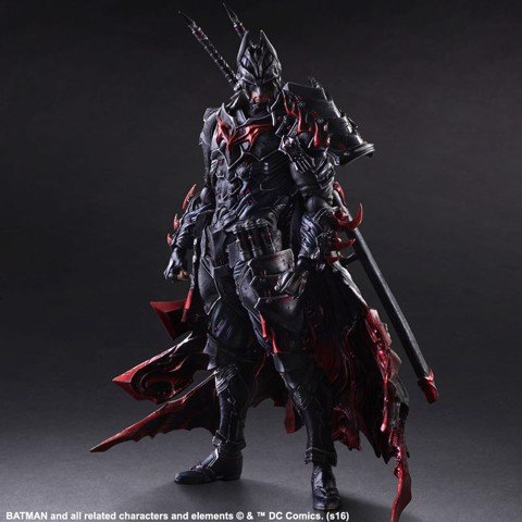Square enix PLAY ARTS KAI Batman Bushido