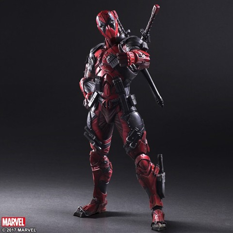 Square enix PLAY ARTS KAI Deadpool