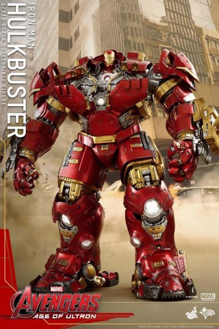 Hottoys Hulkbuster 1.0 AOU NEW