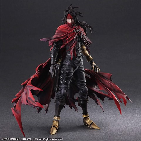 Square enix PLAY ARTS KAI final fantasy VINCENT VALENTINE (2hand)