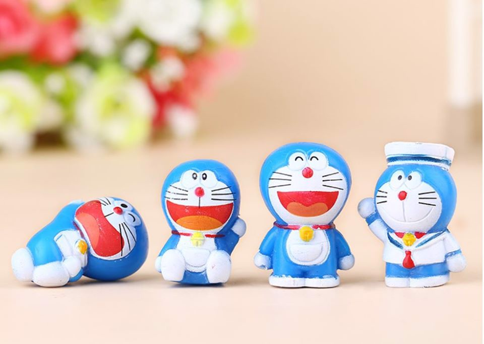 Set Doraemon mini 8 con