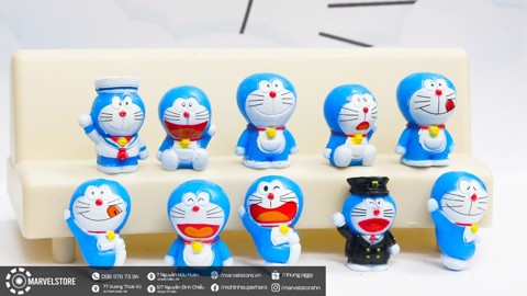 Set Doraemon mini 10 con
