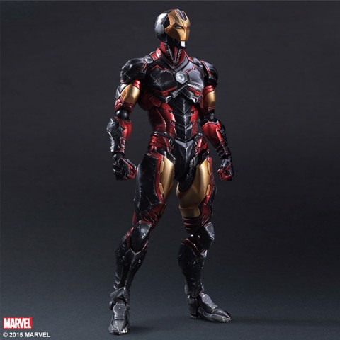 Square enix PLAY ARTS KAI Ironman V2