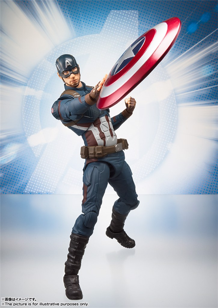Captain America endgame shf REAL