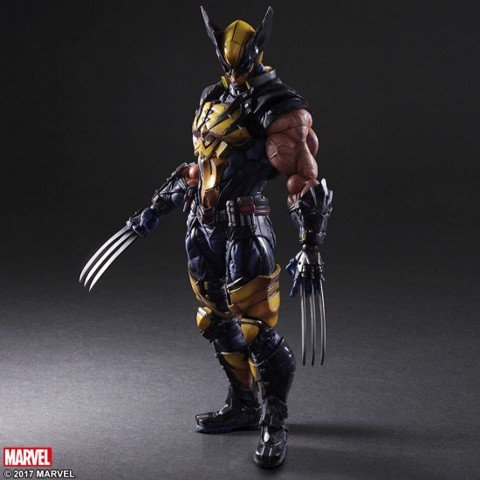 Square enix PLAY ARTS KAI Wolverine