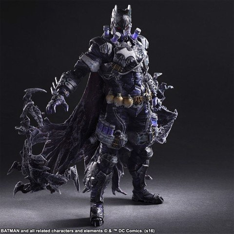 Square enix PLAY ARTS KAI Batman Mr.Freeze