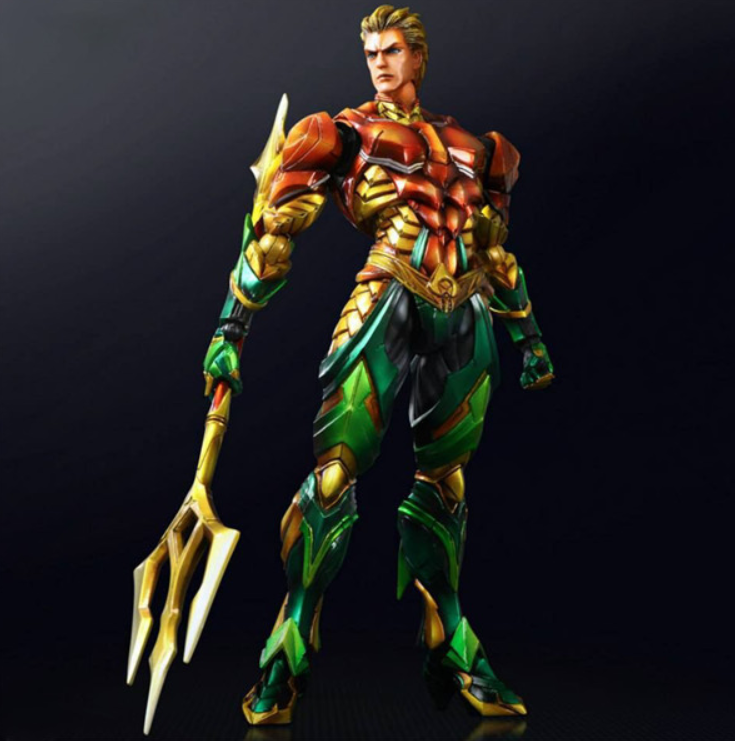 Play arts kai Aquaman