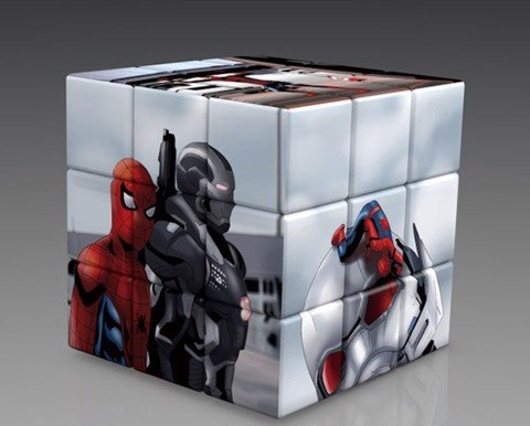 Rubik spiderman