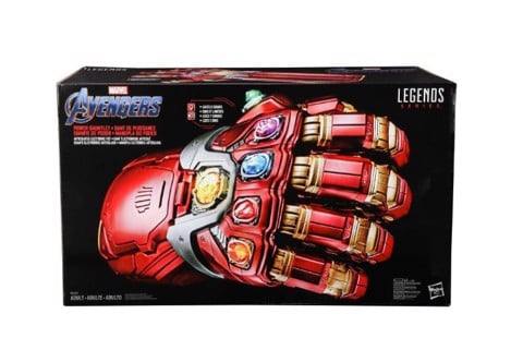 găng ironman nano marvel legends