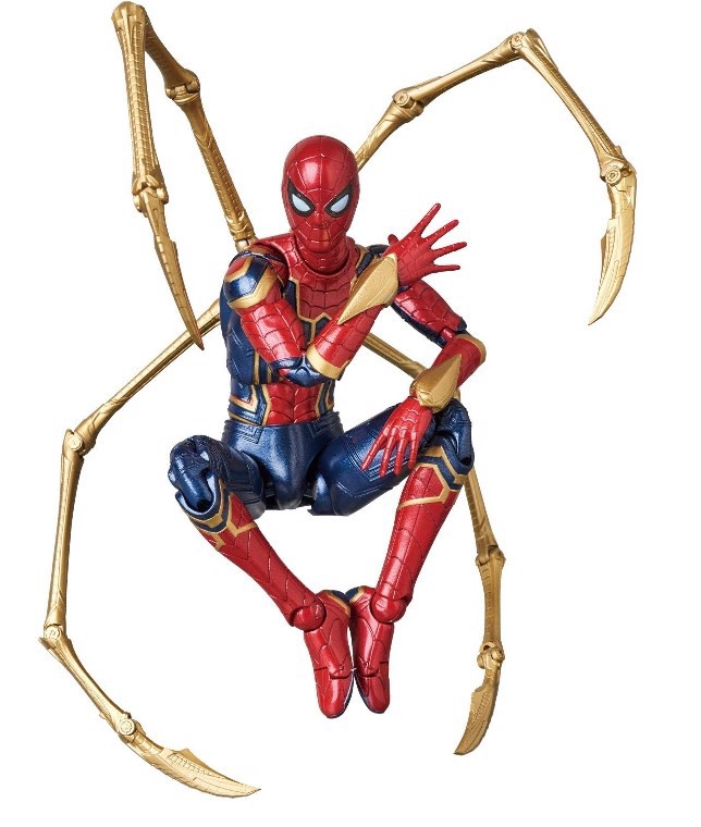 Ironspider Mafex real