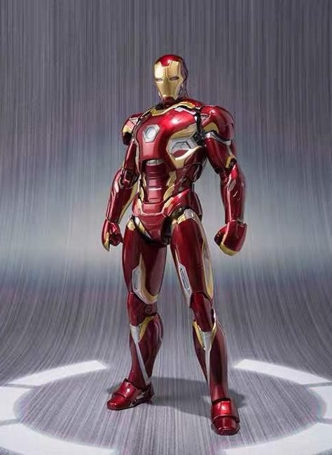 Iron man mk45 shf real
